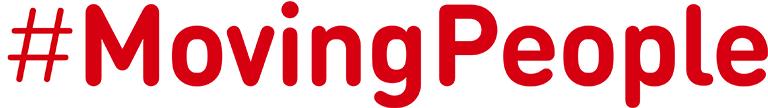 Moving people logo